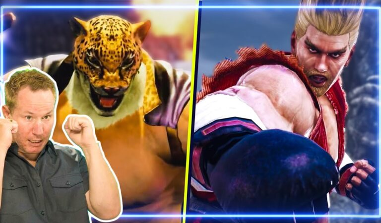 MMA Fighter REACTS to Tekken 7 Fighting Styles   Experts React